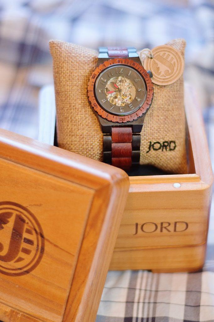 Jord watch packaging