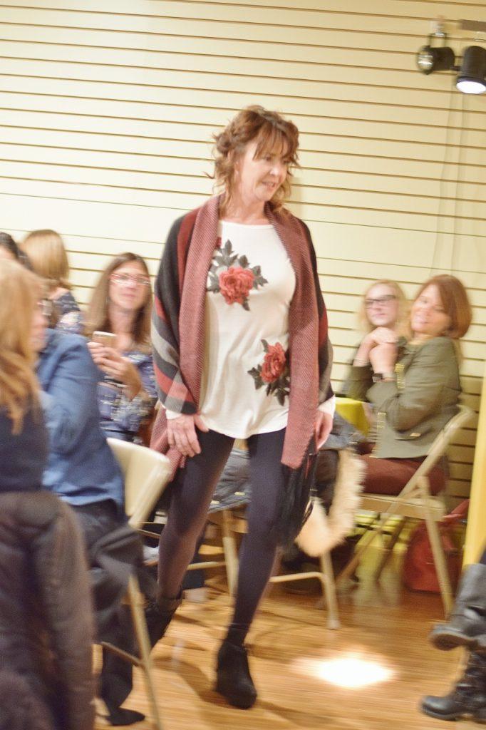 Fall fashion show for women