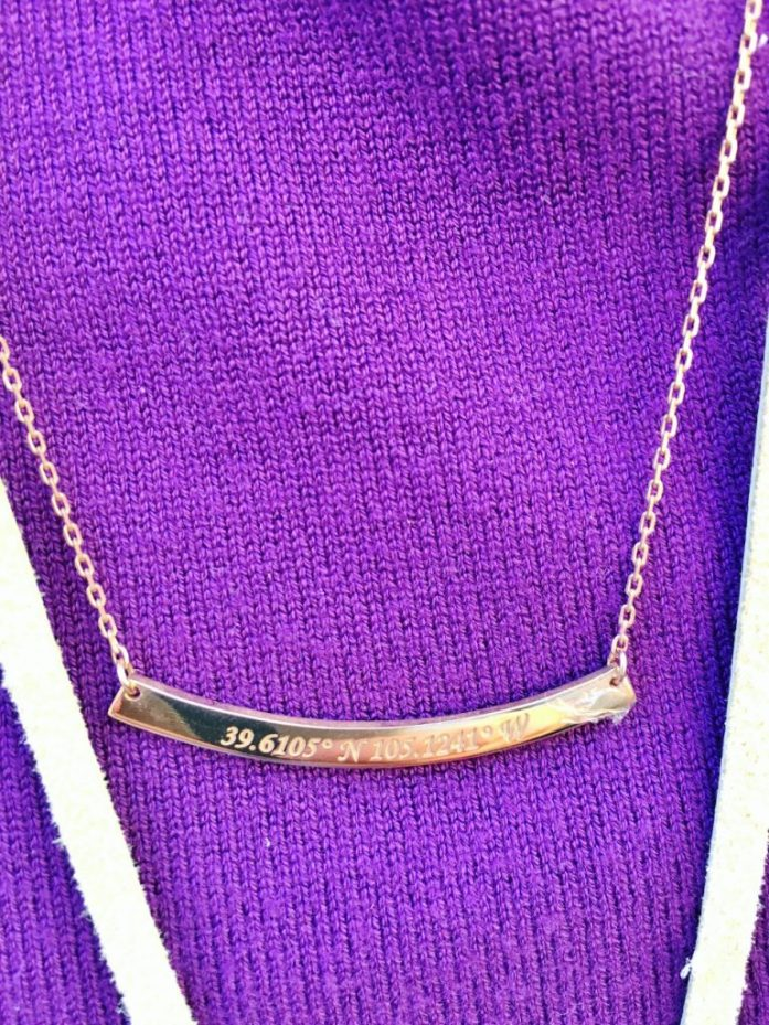 Centime jewelry for as coordinates