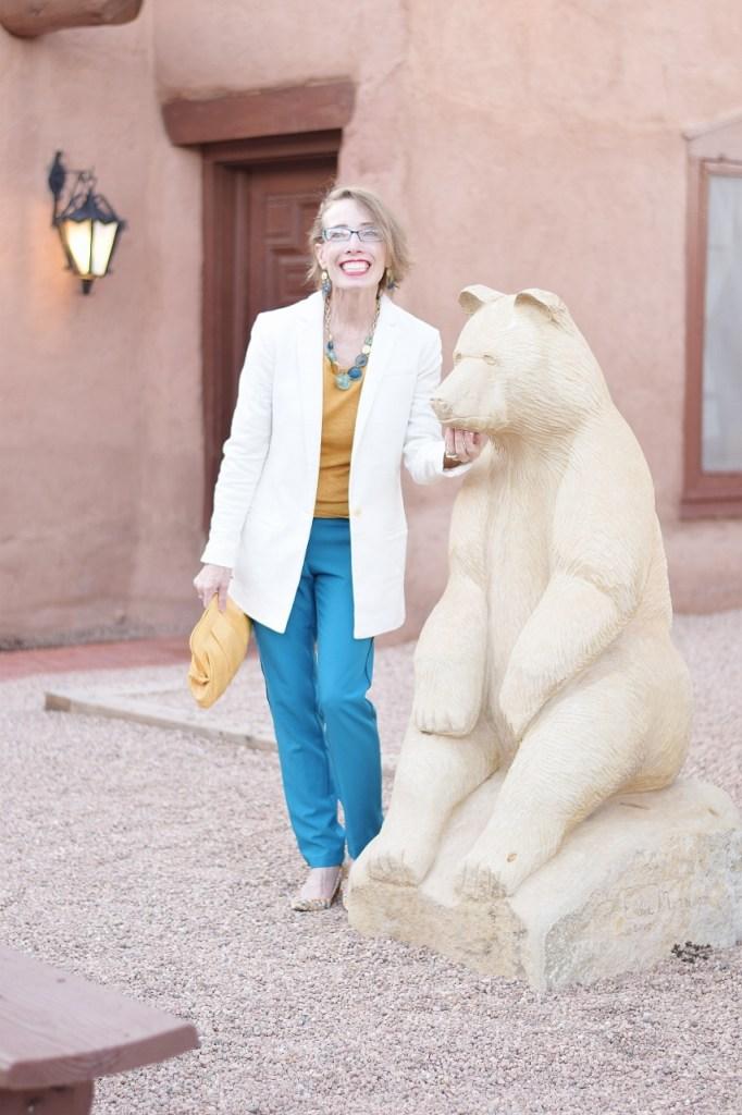 Women over 50 wearing dressy pants