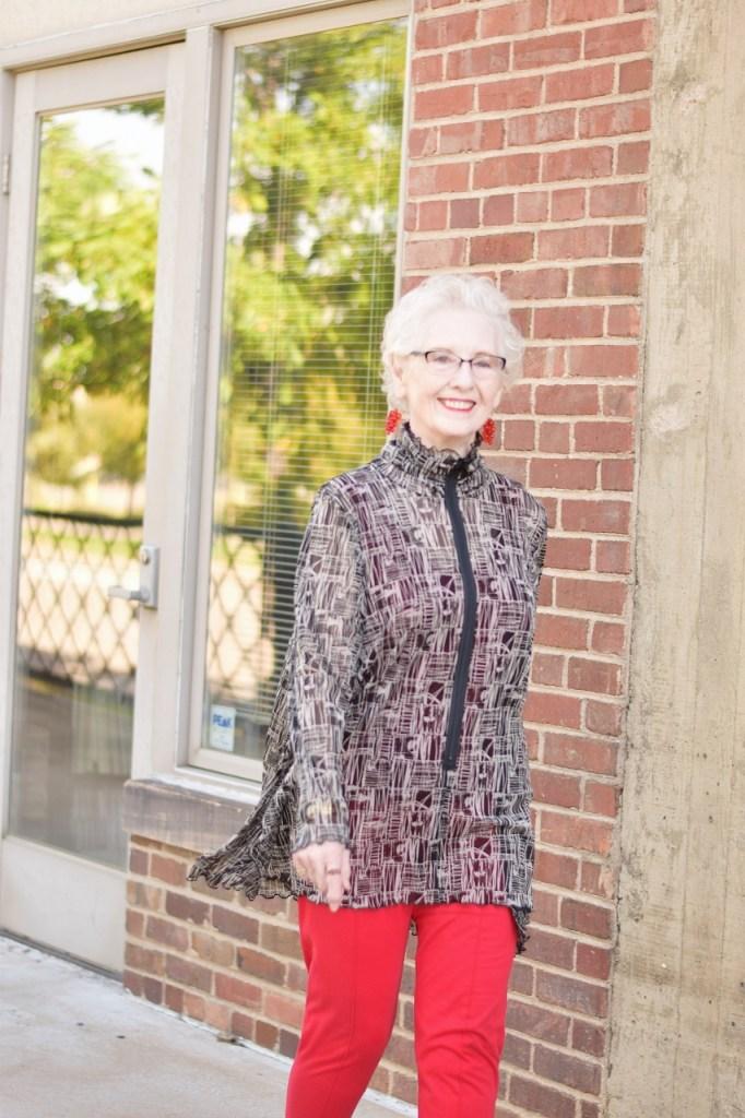 Longer Brook's Tunics for Women 70+