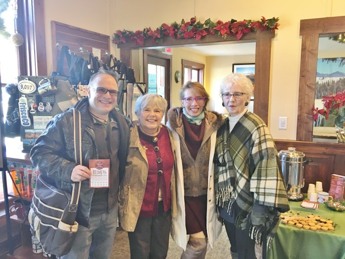 Winter day in Frisco for Wassail Days