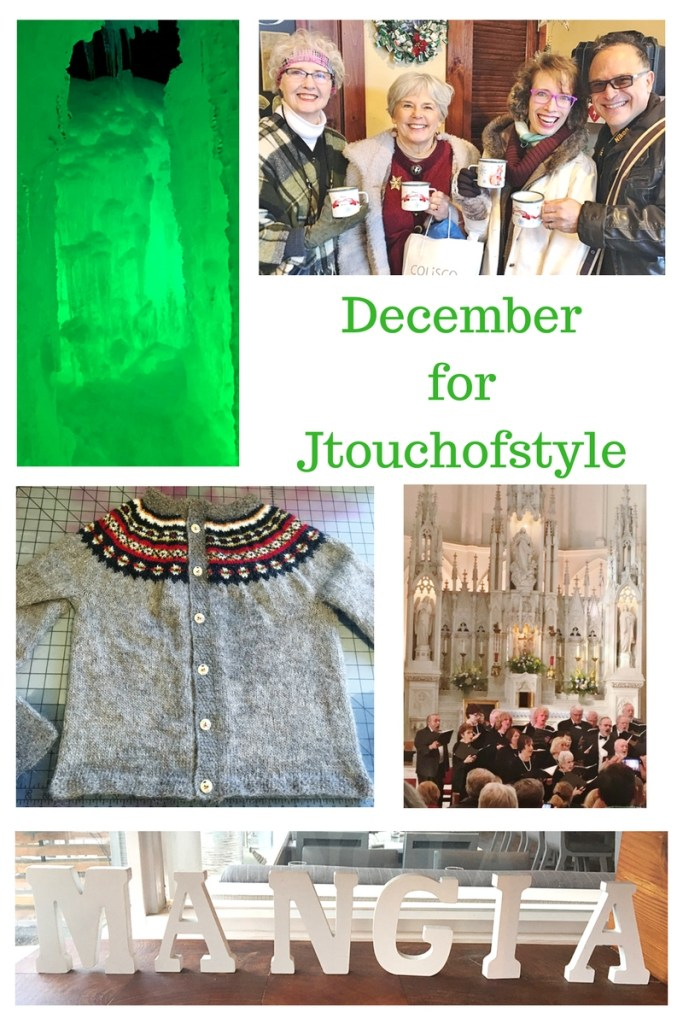 Collage of December in photos