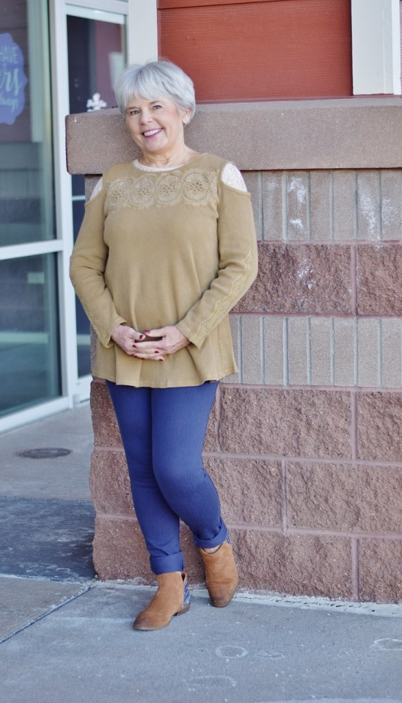 Sweater Weather for women in their 60's