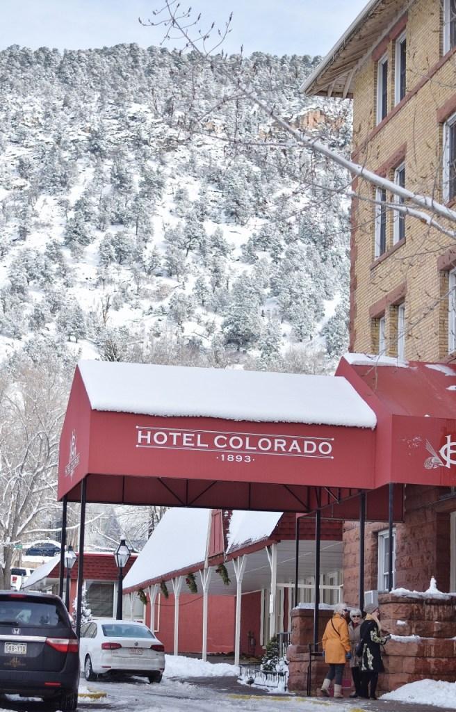 Our hotel in Glenwood Springs