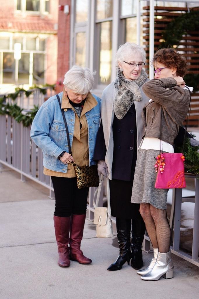 Layering coats for midlife women