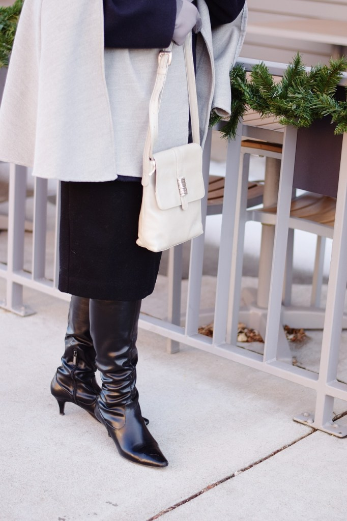 Layering coats as advanced style