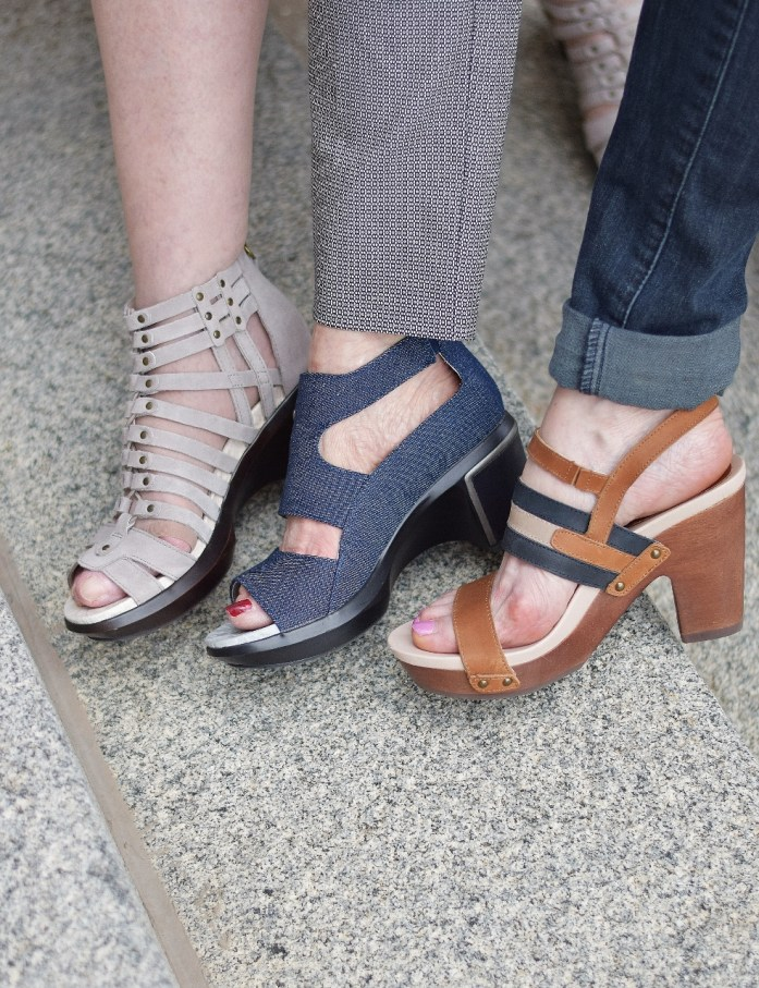 How to style Jambu comfortable wedges and looking good