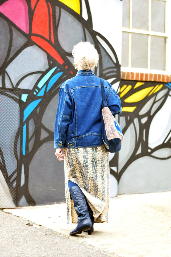 How to style a denim jacket for women over 80