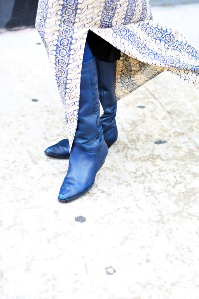 How to style a denim jacket with riding boots