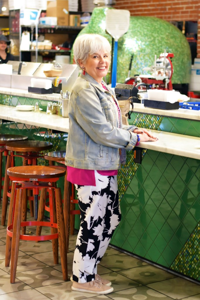 How to style denim jackets for women over 60