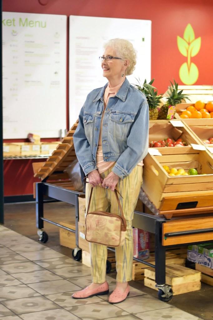 Wearing denim jackets for women in boomer years