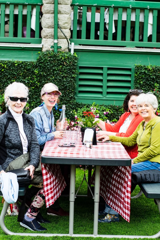Alaska shore excursions in Victoria at Butchart Gardens with a picnic