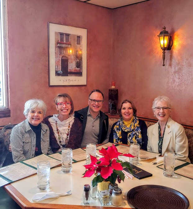 January lunch with family