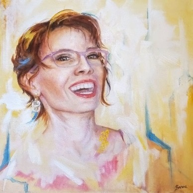 January portrait from Serena Fine Arts