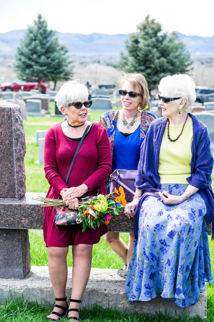 Different outfits for a burial ceremony