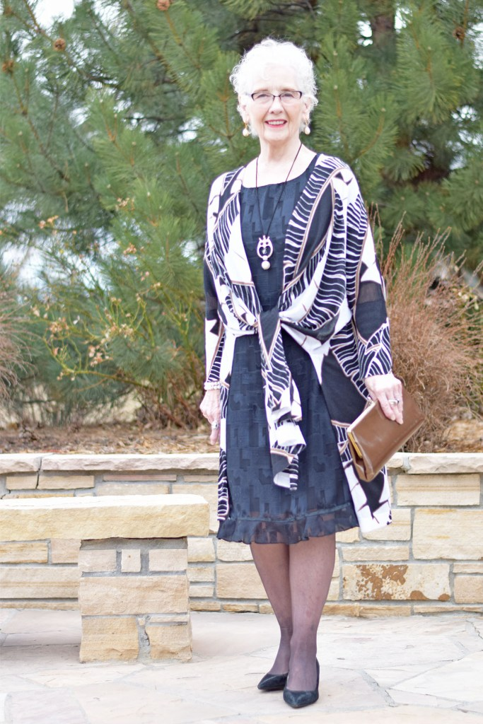 Older Woman with LBD for burial ceremony