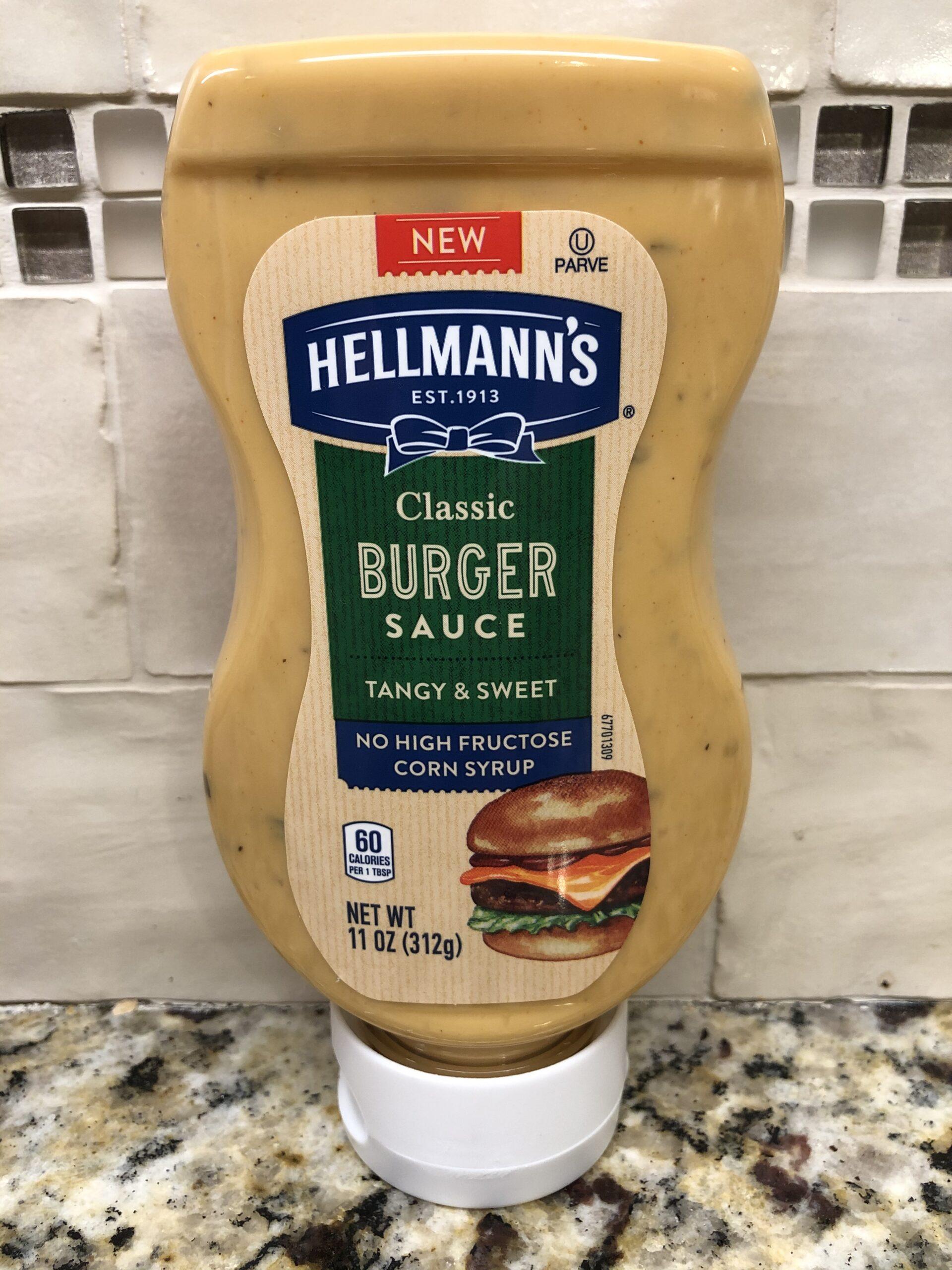 4 BOTTLES Hellmann's Condiment Classic Burger Sauce 11 oz Big Mac Special Mayo   eBay