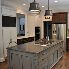 Kitchen Islan Remodel Ideas Pictures Island Cabinets J Tribble