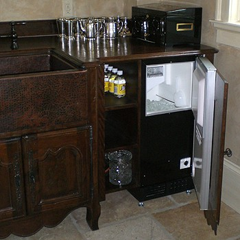 Country French Wet Bar  J Tribble