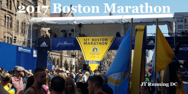 2017 Boston Marathon Banner