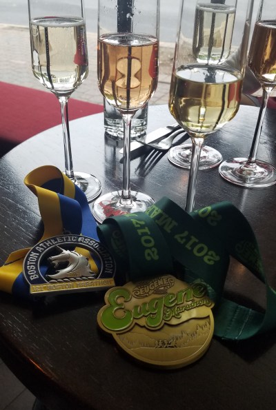 Medals and Sparkling Wine - 05202017