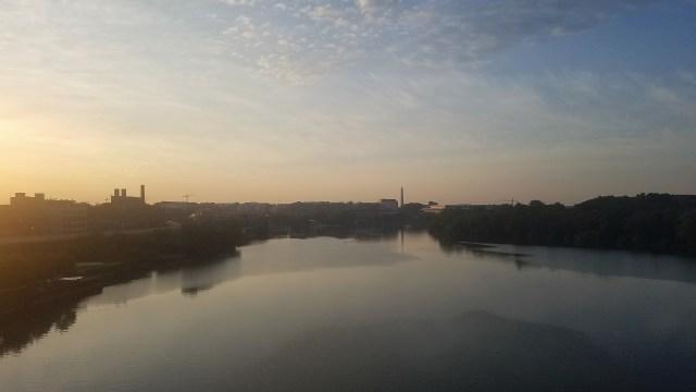 Georgetown from Key Bridge - 06102017