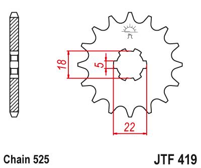 JT Sprockets: Catalogue