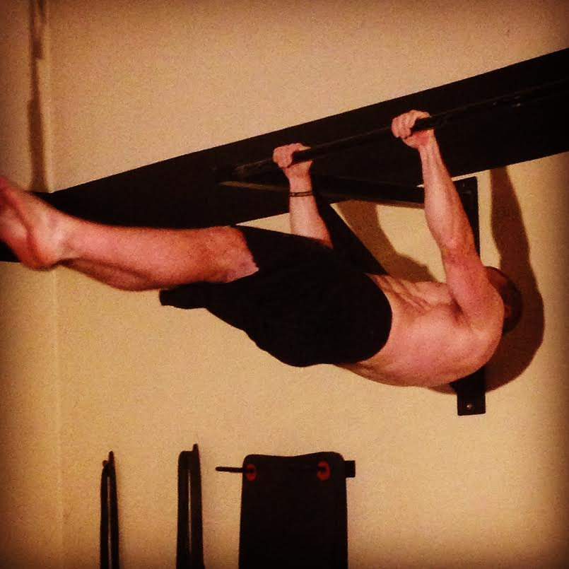 Example of a front lever