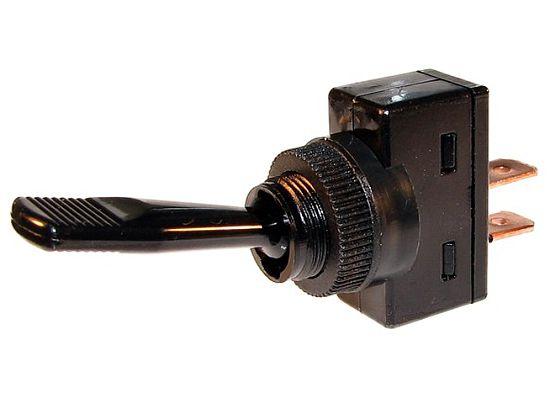 Amp 12 Volt Spst Illuminated Pushpull Switch Red 1 Pc 2670f