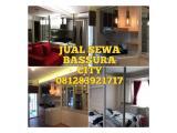 Dijual apartemen Bassura City 2Br atas mall BU lt.17 dan type lainnya Studio/1BR/2BR/3BR nego harga murah agent spesialis Bassura City