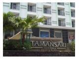 Jual Apartemen Tamansari Sudirman - Studio Fully Furnished - Hanya 688 Juta Promo Kemerdekaan 17 Agustus