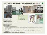 Jual Apartemen 1BR Pool View di Akasa Pure Living BSD City