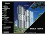 Apartemen Bintaro Plaza Residence – The Breeze Tower, 1 Bedroom Type C, TERMURAH