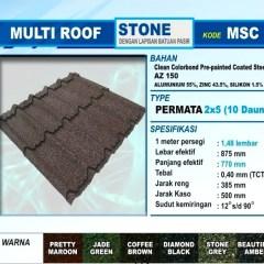 Jarak Reng Baja Ringan Atap Multiroof Genteng Metal Multi Roof Griya Bangunan