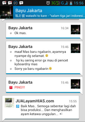 Testimonial Bapak Bayu Jakarta