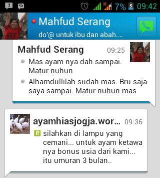 Testimonial Bapak Mahfud Serang