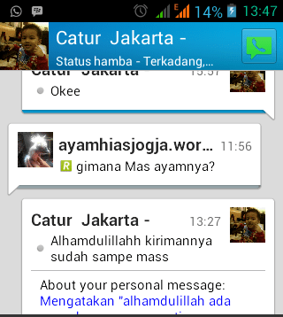 Testimonial dari Bapak Catur Jakarta