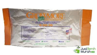 Pupuk NPK Grow More Buah 6-30-30 - 100 Gram