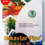 Pupuk Dekastar Plus (18-9-10 +TE) – 100 Gram