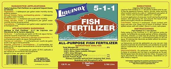 Liquinox Fish Fertilizer