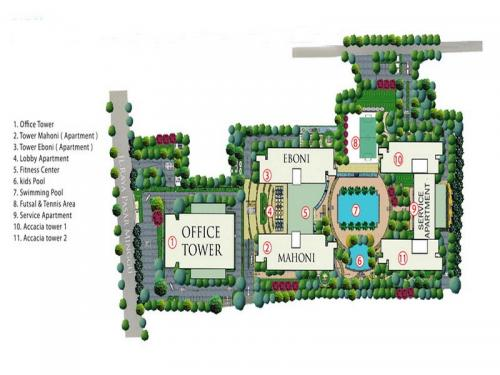Jual Office Space di Pasar Minggu Jakarta Selatan  ITS