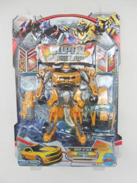Mainan Robot Super Change Robot Bumble Bee