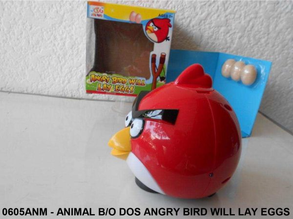 0605ANM - ANIMAL BO DOS ANGRY BIRD WILL LAY EGGS