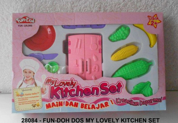 Mainan Anak FUN-DOH My Lovely Kitchen Set