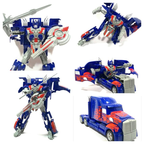 Transformer Interchange Optimus Prime Change