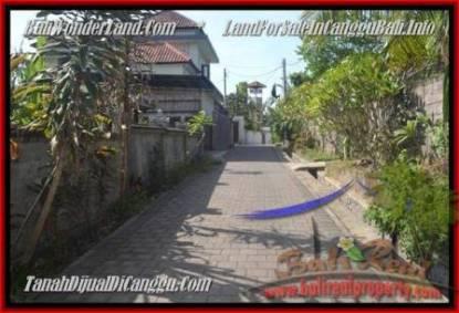JUAL TANAH di CANGGU 430 m2 View sawah dan sungai, gunung link villa