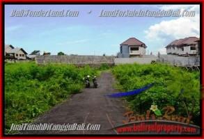 TANAH MURAH JUAL di CANGGU BALI 335 m2  view alami