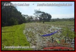 JUAL MURAH TANAH di CANGGU BALI 430 m2 View sawah dan sungai, gunung link villa