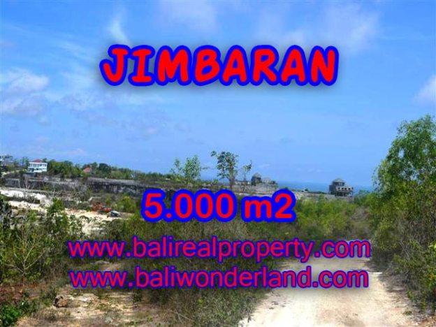 Tanah dijual di Jimbaran Bali 5.000 m2 Lingkungan villa di Jimbaran Pecatu